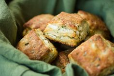 The Bojon Gourmet: Flaky Goat Cheese Chive Biscuits