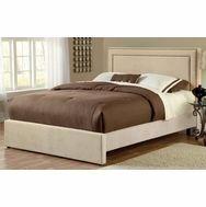 Hillsdale Amber Bed Upholstered in Buckwheat Fabric - 1566BQRA - Hillsdale Furniture