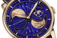 Pre-Baselworld 2016 – Arnold and Son HM Double Hemisphere Perpetual Moon (specs and price) | https://monochrome-watches.com/arnold-and-son-hm-double-hemisphere-perpetual-moon-specs-price/