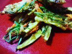 ガネ(薩摩芋のかき揚げ:南九州郷土料理)の画像