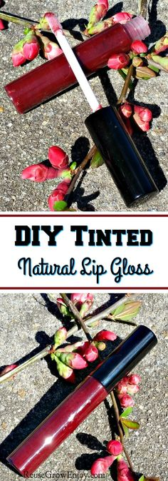 If you are someone trying to live a more natural life this may be an easy DIY you will want to check out. I will show you how to make this DIY tinted natural lip gloss. It leaves the lips feeling smooth! Diy Lip Gloss, Clear Lip Gloss, Homemade Lip Balm, Homemade Moisturizer, Homemade Mascara, Lipgloss, Lipsticks, Diy Lipstick, Lipstick Colors
