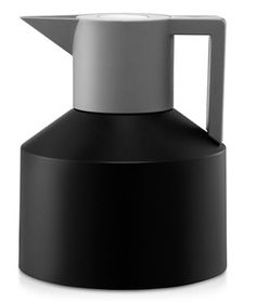 "Cafetière Thermos Noire ""Geo Black"" - Normann Copenhagen - www.wadiga.com"