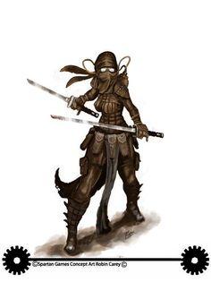 Kumori the ninja/secretary (Dystopian Wars japanese female ninja by Robin-Carey.deviantart.com on @DeviantArt)
