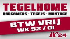 Tegelhome + HV Wonen BTW vrij week 52 en 1