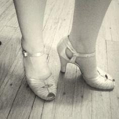 1930s wedding heels