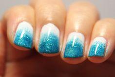 fade nails