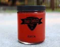 What do you think Ashton smells like?: We think he smells like fresh baked pastries in a local cafe on a rainy evening Candle size: 8 oz. 100% Soy Wax Burn Time: Approximately 65 hours Made to order: Please allow 3-5 days for production. U.S. shipping usually takes an additional...