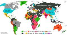 World export map
