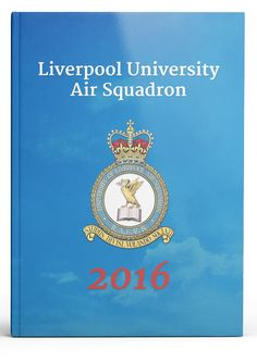 We're flying high with this Air Squadron yearbook design! University Of Liverpool, Yearbook Covers, Yearbook Design, Cover Design, Artwork, Work Of Art, Auguste Rodin Artwork, Artworks, Illustrators