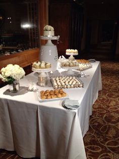 Erin & John's Wedding Dessert Buffet at La Rinconada CC 7-12-14