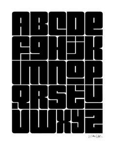 3 ways to improve your typography alphabet design design - t Graffiti Alphabet, Alphabet Art, Graffiti Lettering, Typography Letters, Alphabet Design Fonts, Calligraphy Fonts Alphabet, Modern Typography, Lettering Styles, Types Of Lettering