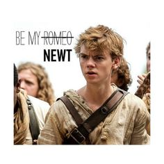 Newt - The Maze Runner Fan Art (37661622) - Fanpop ❤ liked on Polyvore featuring home, home decor, fandoms and pics