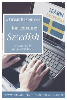 Many family history buffs want to learn the language of their ancestors. If you are a genealogist interested in Scandinavia and want to learn Swedish, check out these 4 best resources for getting starting on your Swedish language journey! #swedishlanguage #learnswedish #speakswedish Learn Swedish, Swedish Language, Phrase Book, Verb Forms, Grammar Book, Exercise Book, Writing Exercises, Learn Faster, Language School
