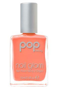 POP Beauty 'Nail Glam' Nail Polish in Orange