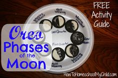 Oreo Phases of the Moon – Summer Fun Activities for Kids