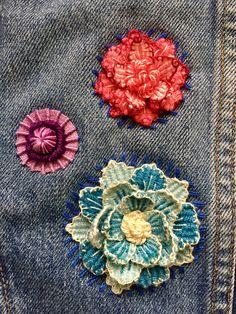 Detalle de jacket bordada (curso de Arte Textil con Adriana Orozco)