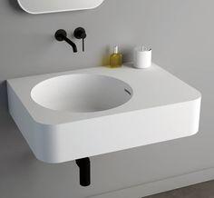 Solidbrio www.ideavit.com #solidbrio#bathroom #bath #architecture #sanitary #minimal #minimalism #bathtub #tub #luxurybath #whitematt #solidsurface #minimaldesign #simplicity #bathroomdecor #simplebath #minimalbath #washbasin #minimalbathroom #archiproject #designer #archdaily #homedecor #interiordesign #interiors #matte #ideavit #hoteldesign #boutiquehotels#luxuryhome