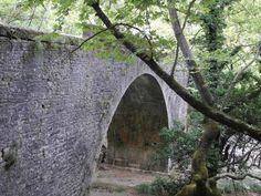 Dimitra bridge of Ladonas river Arcadia Peloponnesee Greek, River, Bridges, Plants, Plant, Greece, Rivers, Planets