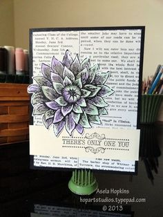 Stampin' Up! Creative Elements Card design