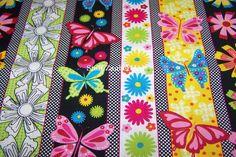 Newcastle Fabrics Susie Schmetterlinge Blumen Punkte Bordüre Patchwork