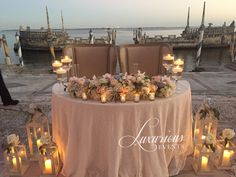 Sweetheart table for our beautiful Vizcaya wedding! Designing, planning and florals by www.LuxuriousEvents.com  #weddinginspiration #sweethearttable #vizcaya #vizcayawedding