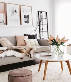 Living room goals featuring the beautiful Ivory Rope Weave Rug by @therugcollection. Available in 5 colours - link in profile. Photo by @oh.eight.oh.nine #simplestyleco
