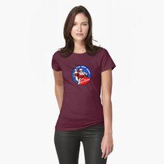 'Johnny Bravo Cartoon' T-Shirt von Mauswohn Johnny Bravo, Jeanne Et Serge, Vintage T-shirts, Tshirt Colors, Female Models, Lady, V Neck T Shirt, Chiffon Tops, Shirt Designs
