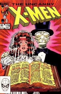 My first encounter with Caliban in X-Men #179 back when they were just 60 cents. This former Morlock has such great potential - simple but fascinating character - well done Marvel.
