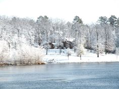 Beautiful Snow Scene out side Gilmer,Tx on 12-26-2012
