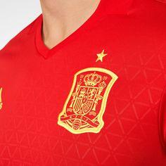 Spain National Football Team, New Spain, Traditional Design, Euro, Polo Ralph Lauren, Kit, Mens Tops, Fashion, Moda