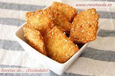 Una de las mejores recetas para elaborar tus propias galletas caseras saladas, con un delicioso sabor a queso. Fáciles y rápidas, resultado de ¡escándalo!