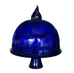 Dome Round and Cake Stand are friend forever (blue)