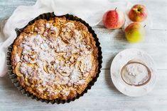 Mandľový+koláč+s+jablkami