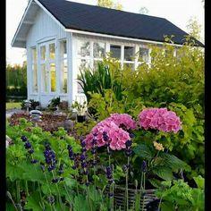 Så här såg det ut för ett år sedan, vintern har gjort sitt för så här lummigt är det inte i år🌸🍃🌸 Fredagen kom lämpligt oxå denna vecka👌, men en arbetsdag kvar ännu den här veckan och tre nästa vecka, sedan börjar en mycket efterlängtad semester😎 ha ett trevligt veckoslut🍃💗🍃 #villamaja #lusthus #huvimaja #minträdgård #mygarden #puutarha #drömhemochträdgård #alltomträdgård #mynorwegianhome #delvakkerthjem #hellinterior1 #gardening #gardeninspiration