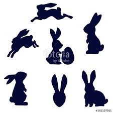 Image result for running hare silhouette