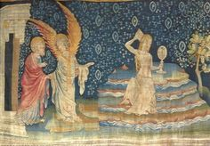 The Apocalypse Tapestry is a medieval French tapestry commissioned by Louis I, the Duke of Anjou, and produced between 1377 and 1382