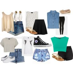 Eleanor Calder Inspired Outfits for Summer - Polyvore