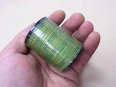 金亀 レインボーキルト糸 col.16  【#40/300 金亀キルト糸】