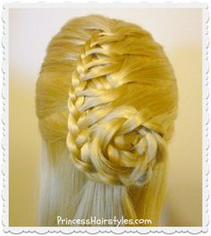 Cornucopia braid hairstyle tutorial