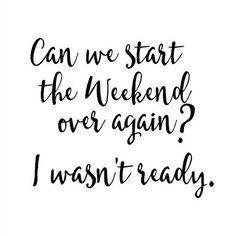 Sunday feels..