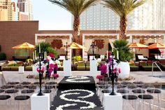 Perfect place for an outdoor wedding - Mandarin Oriental Las Vegas.