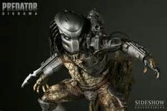 Predator Diorama from Sideshow Collectibles Alien Vs Predator, Diorama, Canada Images, Sideshow Collectibles, Statue, Animal Photography, Image Search, Horror, Marvel