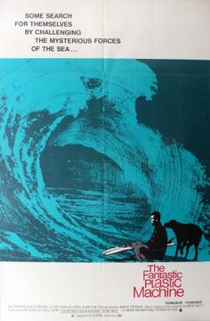 The Fantastic Plastic Machine Surfing, 1969 - original vintage poster of the day listed on AntikBar.co.uk