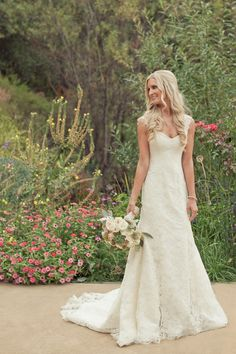 DREAM DRESS:  Marisa via The Wedding Day Bridal Salon Read more at http://www.weddingchicks.com/gallery/hans-fahden-wine-cellar-wedding/#UuAX0BuJo6oZdLHB.99 Lace Beach Wedding Dress, Country Wedding Dresses, Ivory Wedding, Wedding Dresses 2018, Cheap Wedding Dress, Elegant Wedding Dress, Dress Lace, Wedding Bells, Wedding Beauty