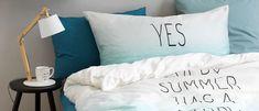 Wohnidee: Frisch ins neue Jahr mit unseren Bettwäsche-Neuheiten Bed Pillows, Pillow Cases, Natural Living Rooms, News, Fresh, Summer, Pillows