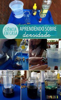 Experimento de ciência para as crianças - faça você em casa. Veja mais atividades lá no #tempojunto www.tempojunto.com