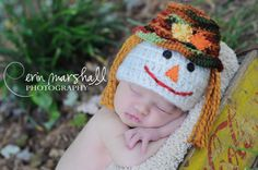 Scarecrow Baby or Child Hat perfect for by mandag433 on Etsy, $20.00