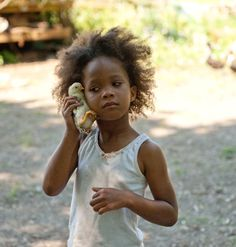 "Sundance favorite, ""Beasts of the Southern Wild"", directed by Behn Zeitlin. Pictured, newcomer Quvenzhane Wallis. Trailer: http://www.youtube.com/watch?v=LA6FFnjvvmg"