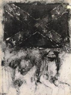 Leo Twiggs: Downhome Landscapes Batik Paintings | The Studio Museum in Harlem