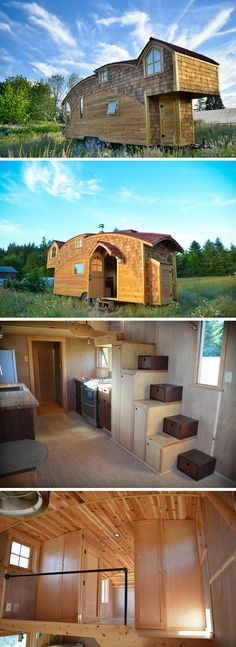 Zyl Vardos has some of the most truly unique designs in the tiny house market.